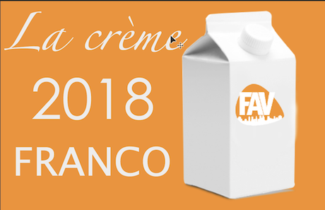 TOP 2018 FRANCO positions 20 à 11
