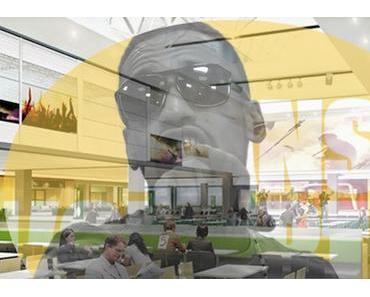 Buffet: KNLO dans le food court de Place Laurier (aujourd'hui Laurier Québec)