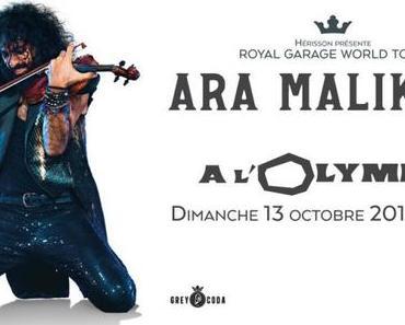 Sélection concert : Ara Malikian à voir à l'Olympia le 13/10