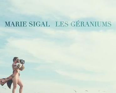 LES GÉRANIUMS – MARIE SIGAL